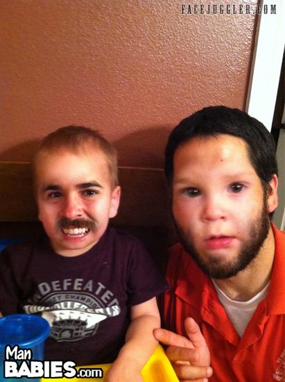 Mustache or Neck Beard?