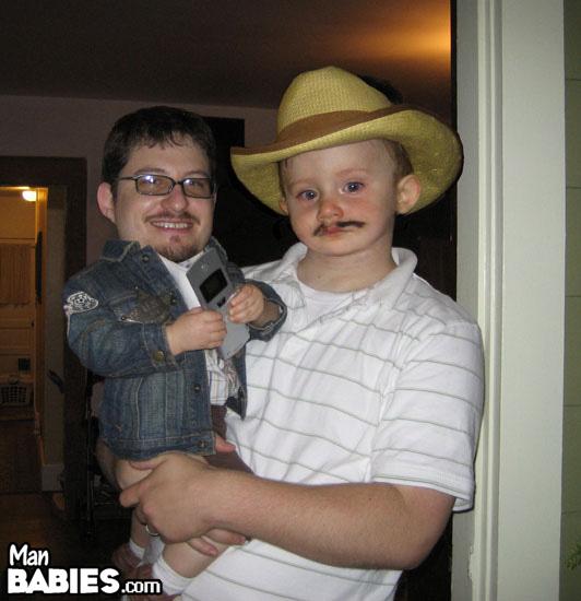 I dun want a mustache...
